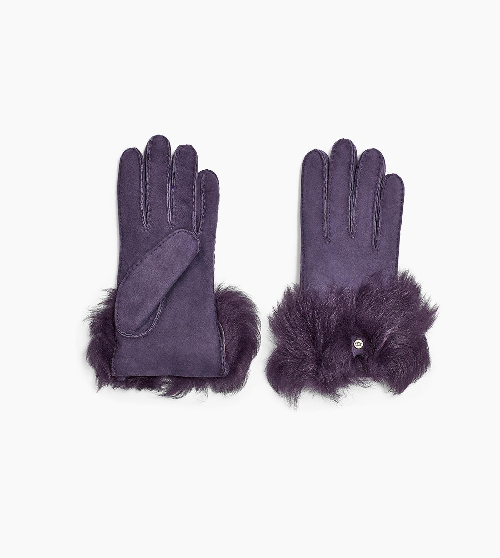 Long Pile Bow Glove