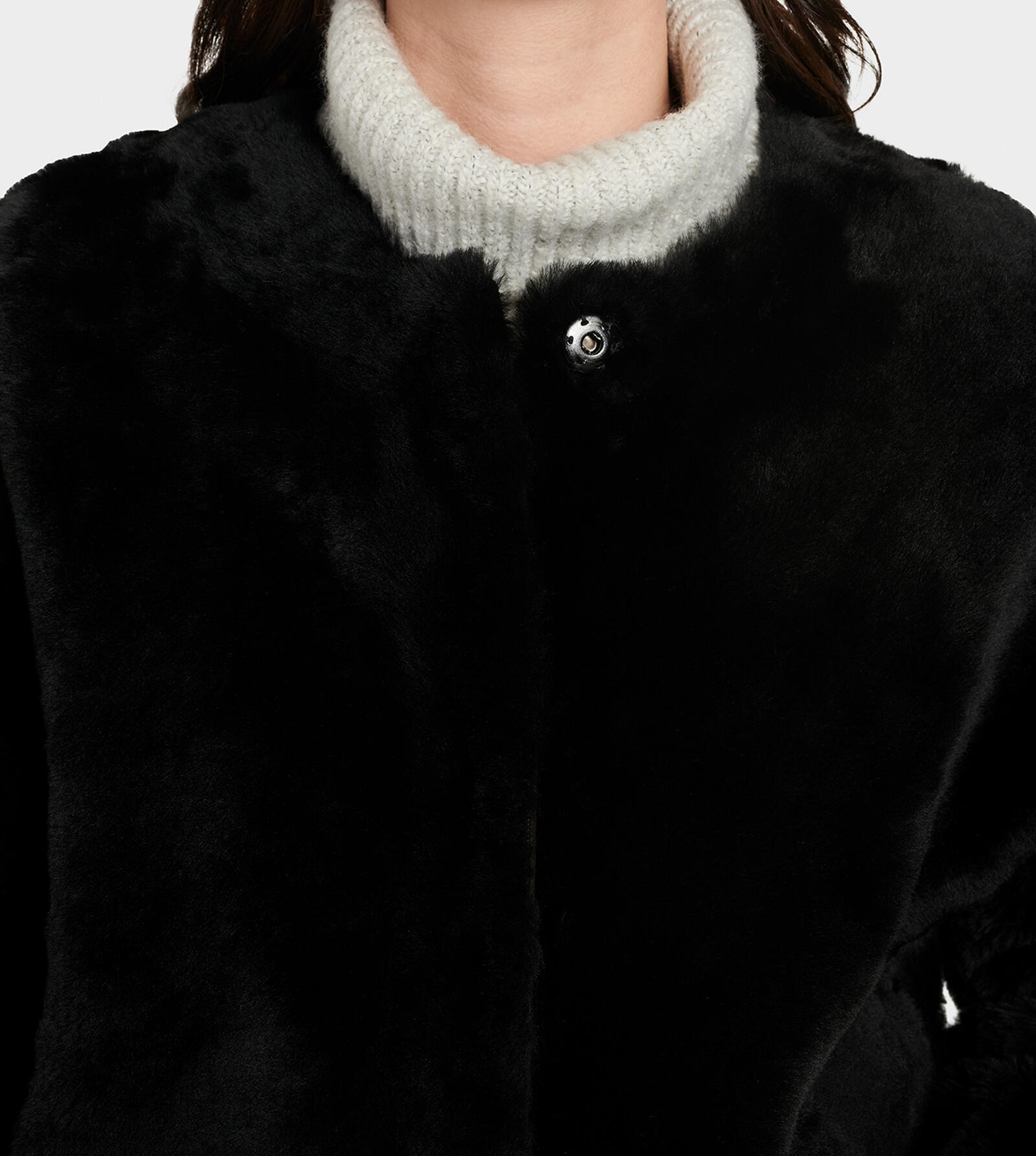 Remy Reversible Shearling Coat
