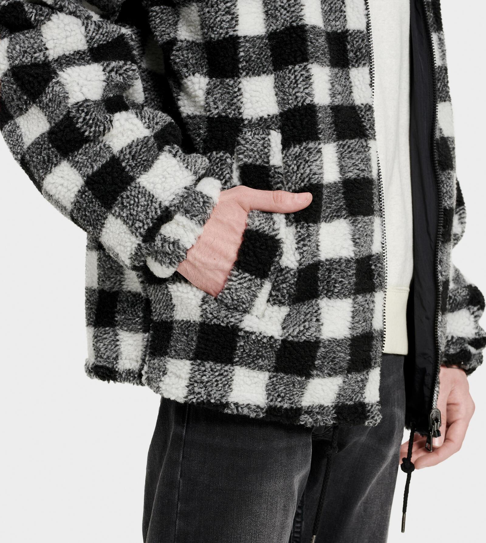 Mace Reversible Sherpa Jacket