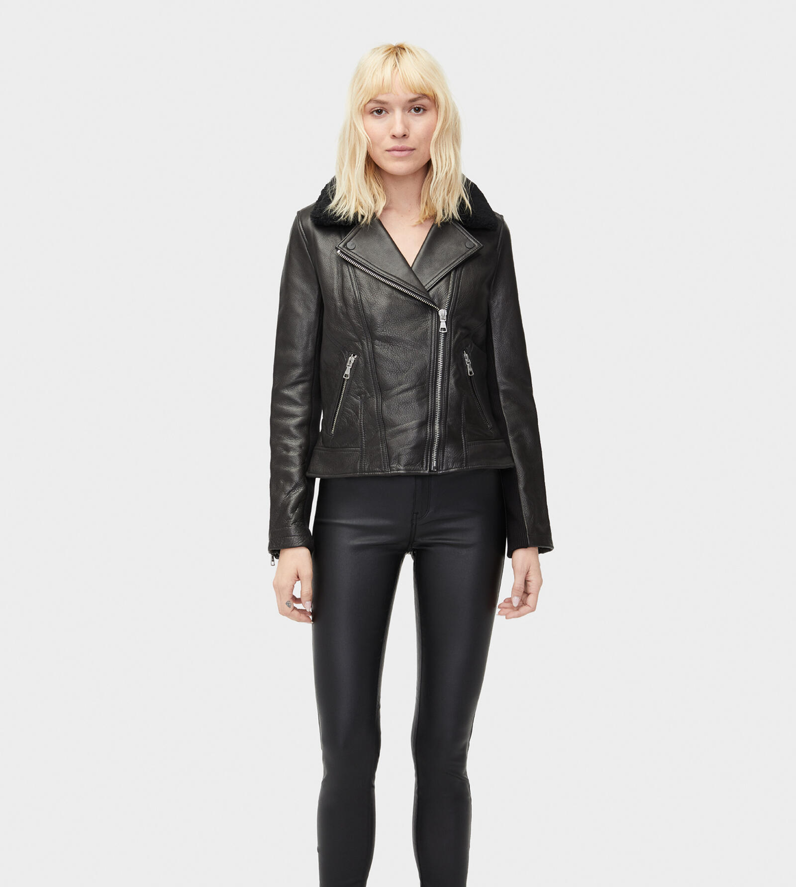Andee Leather Cycle Jacket