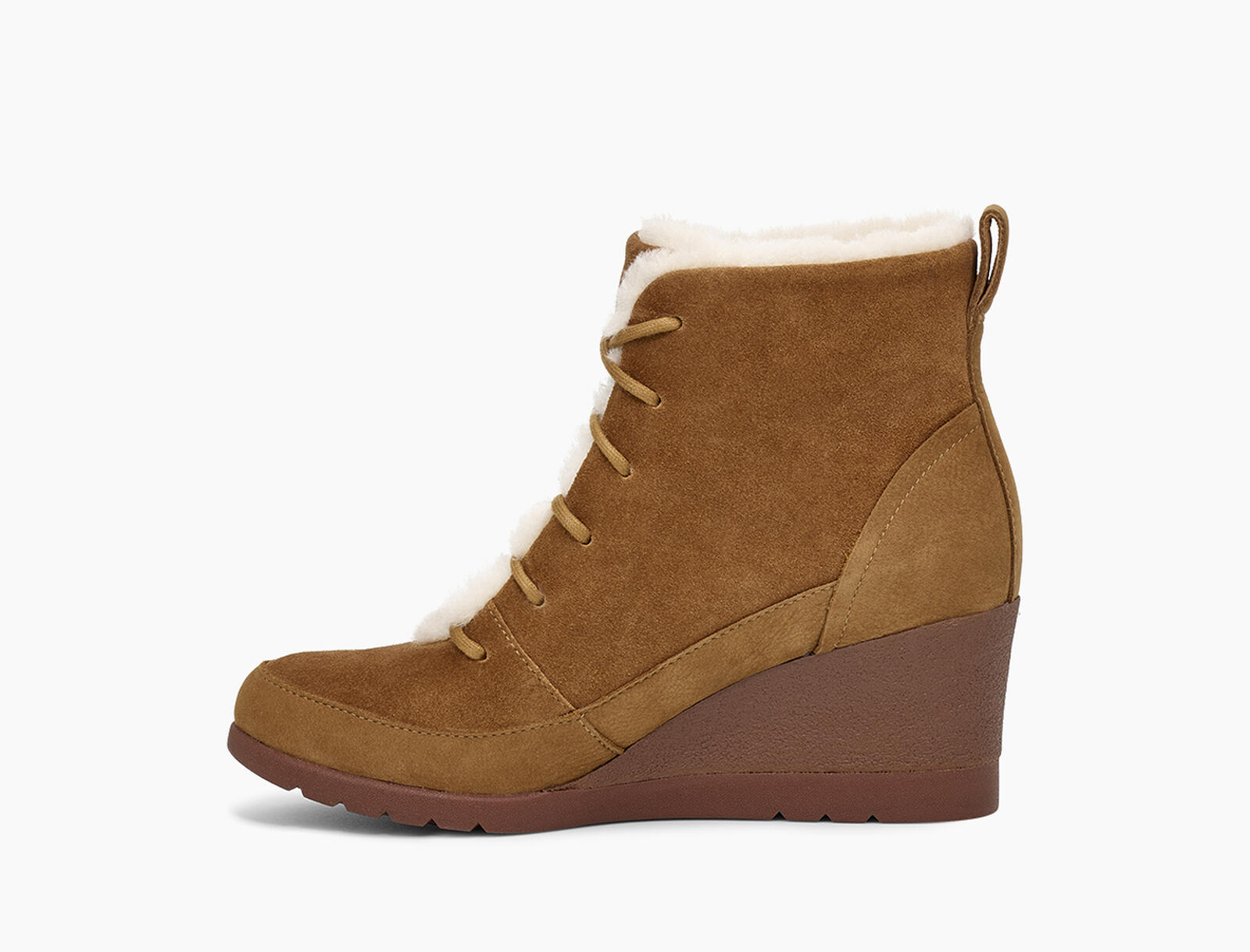 Bridgit Waterproof Suede Boot