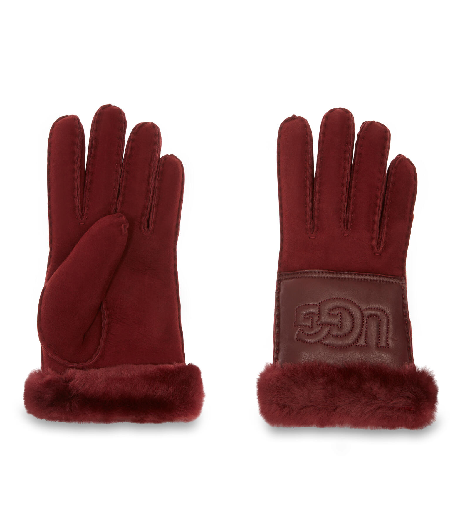Sheepskin Logo Glove