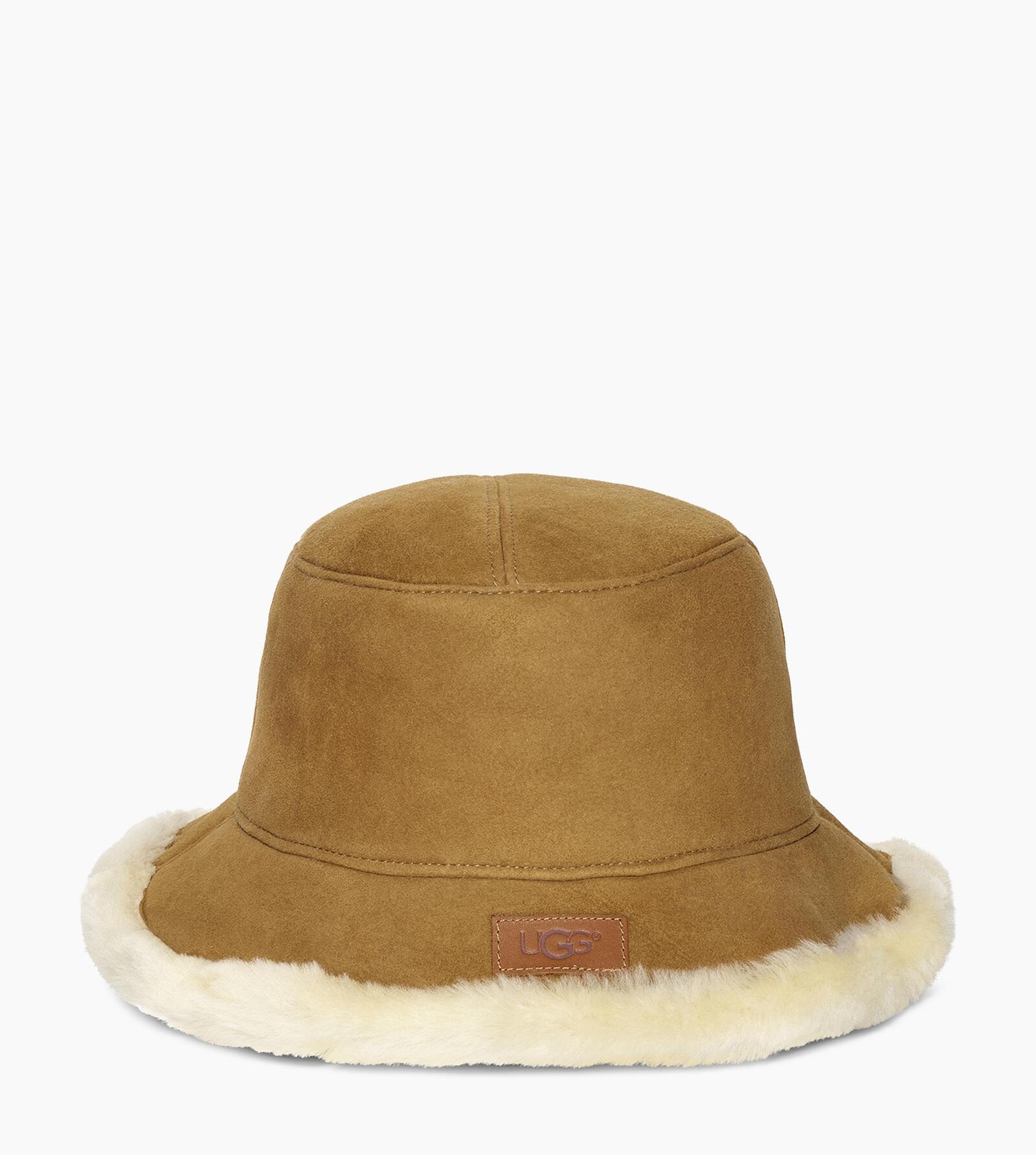 Sheepskin Bucket Hat