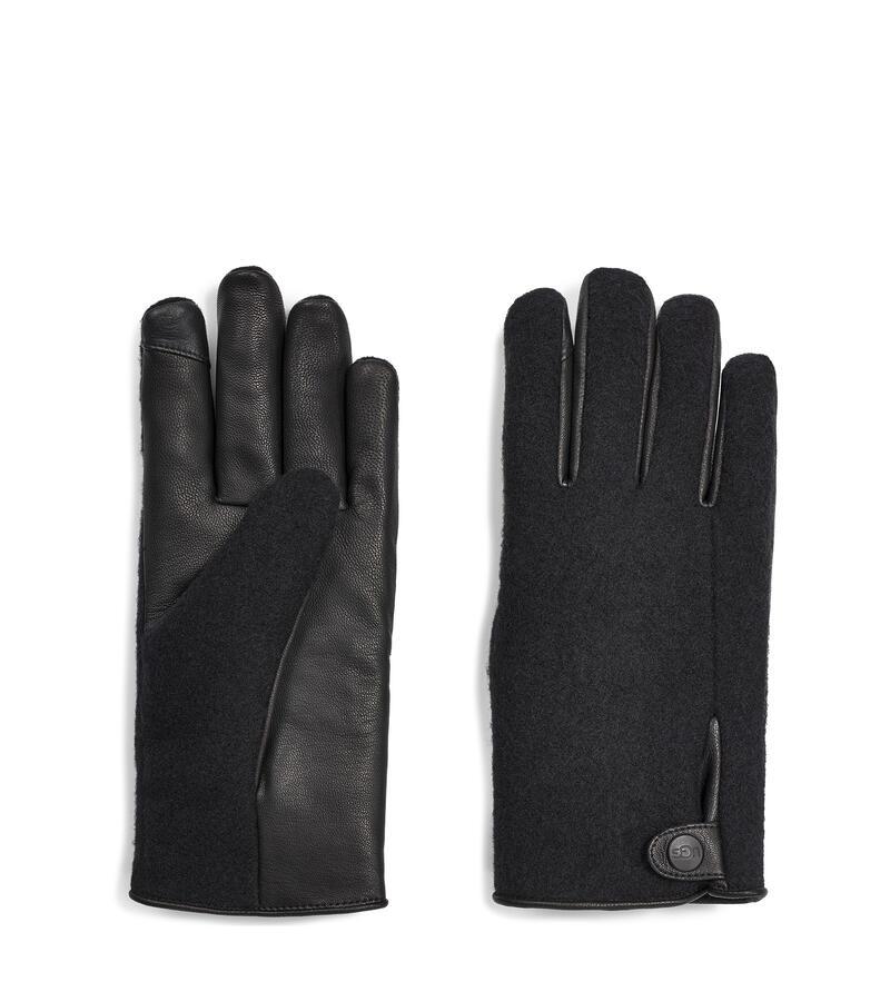 Snap Tab Fabric Tech Glove