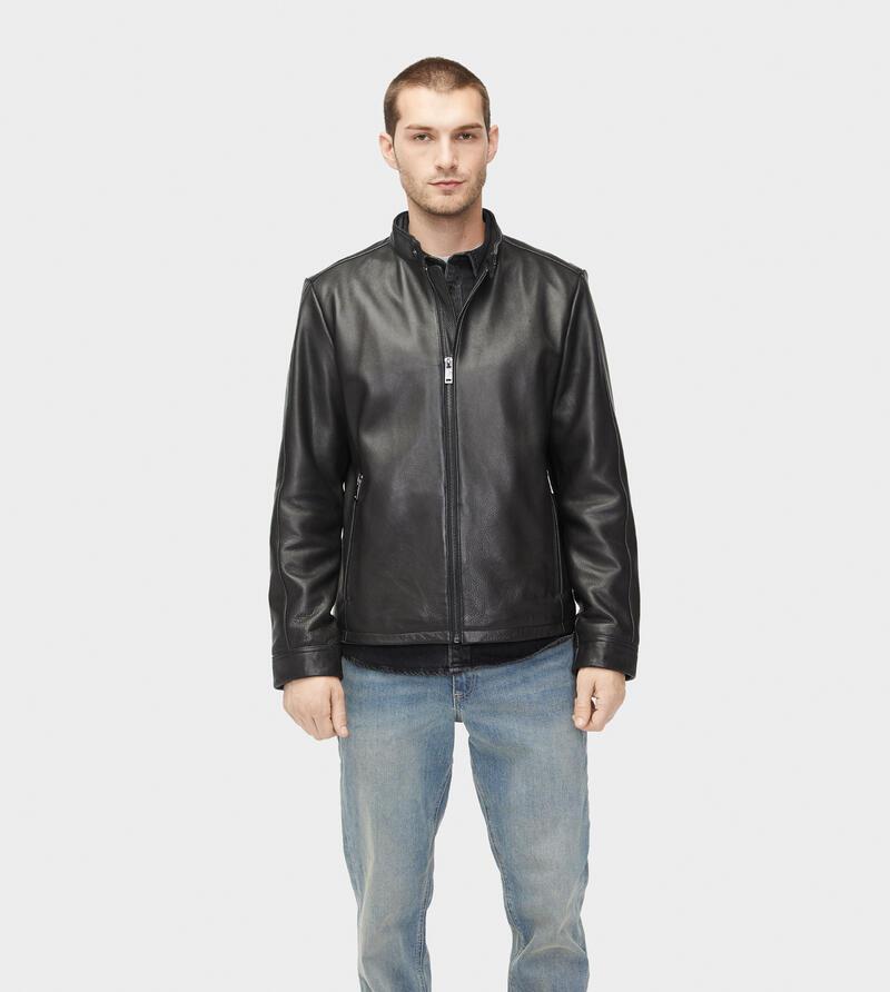 Orlando Leather Racer Jacket