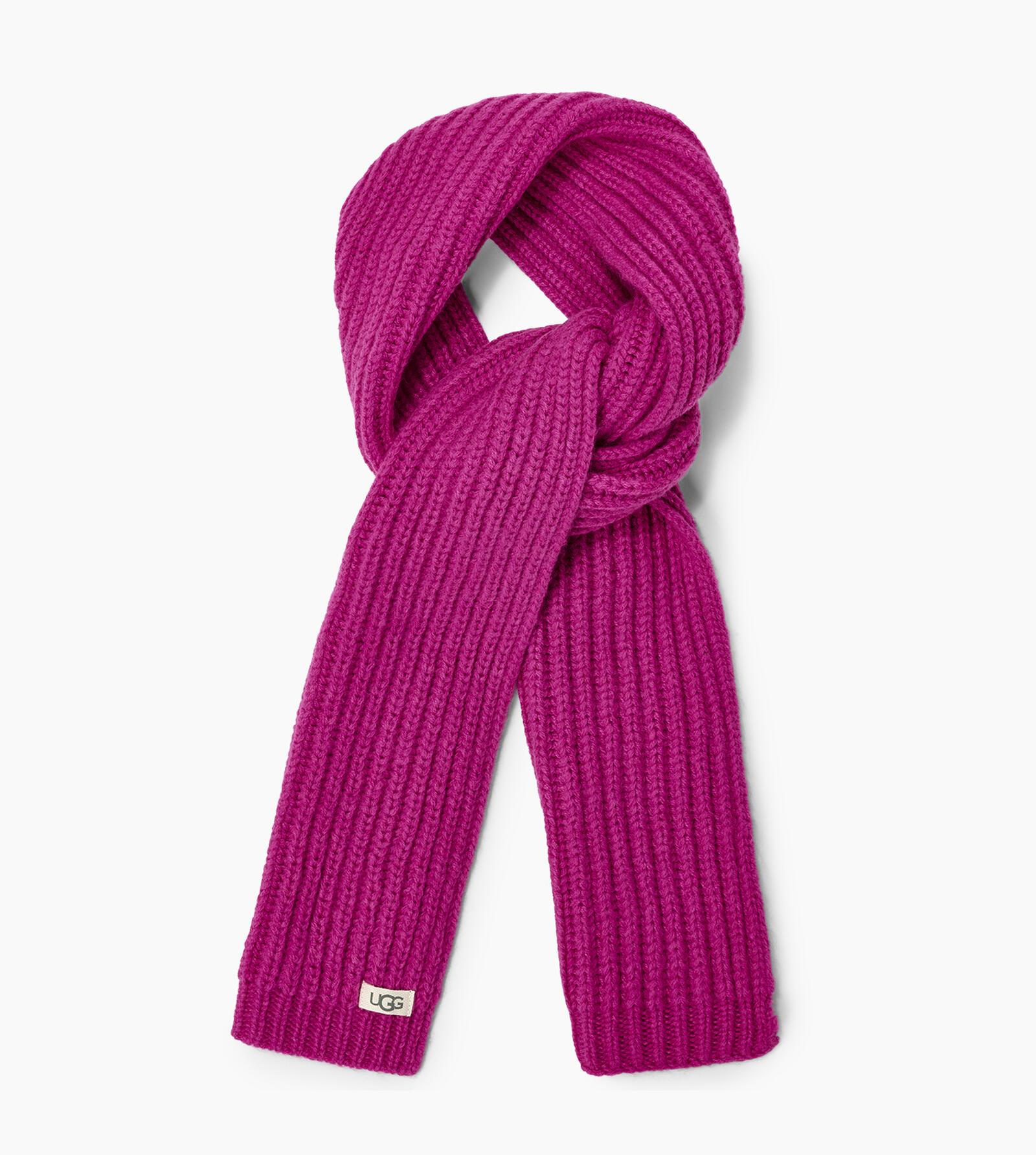 Rib Knit Hat and Scarf Set