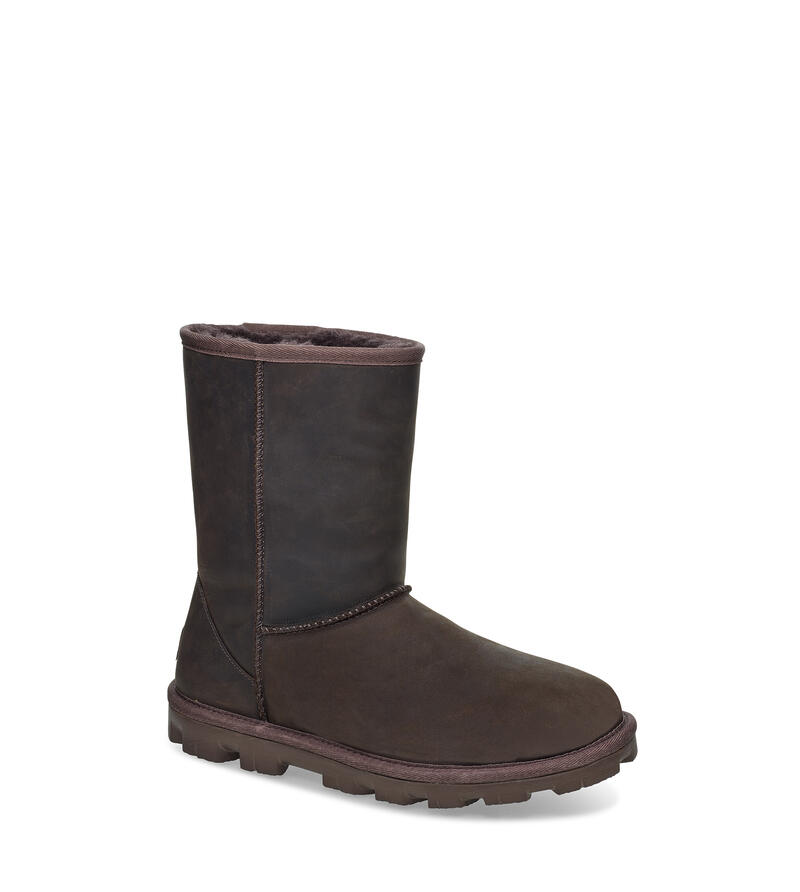 Essential Short Leather Boot