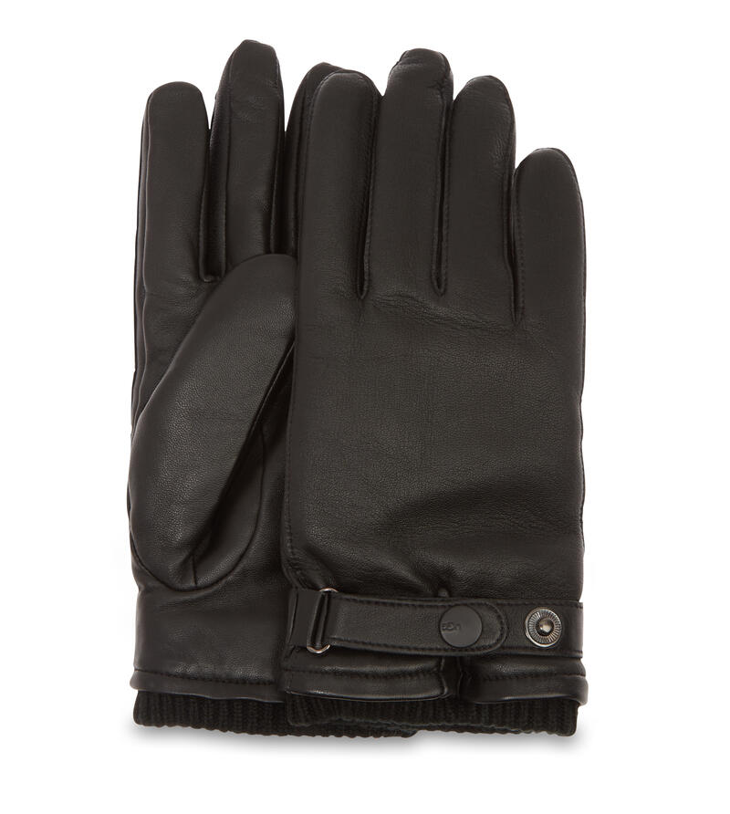 Leather Belted Glove