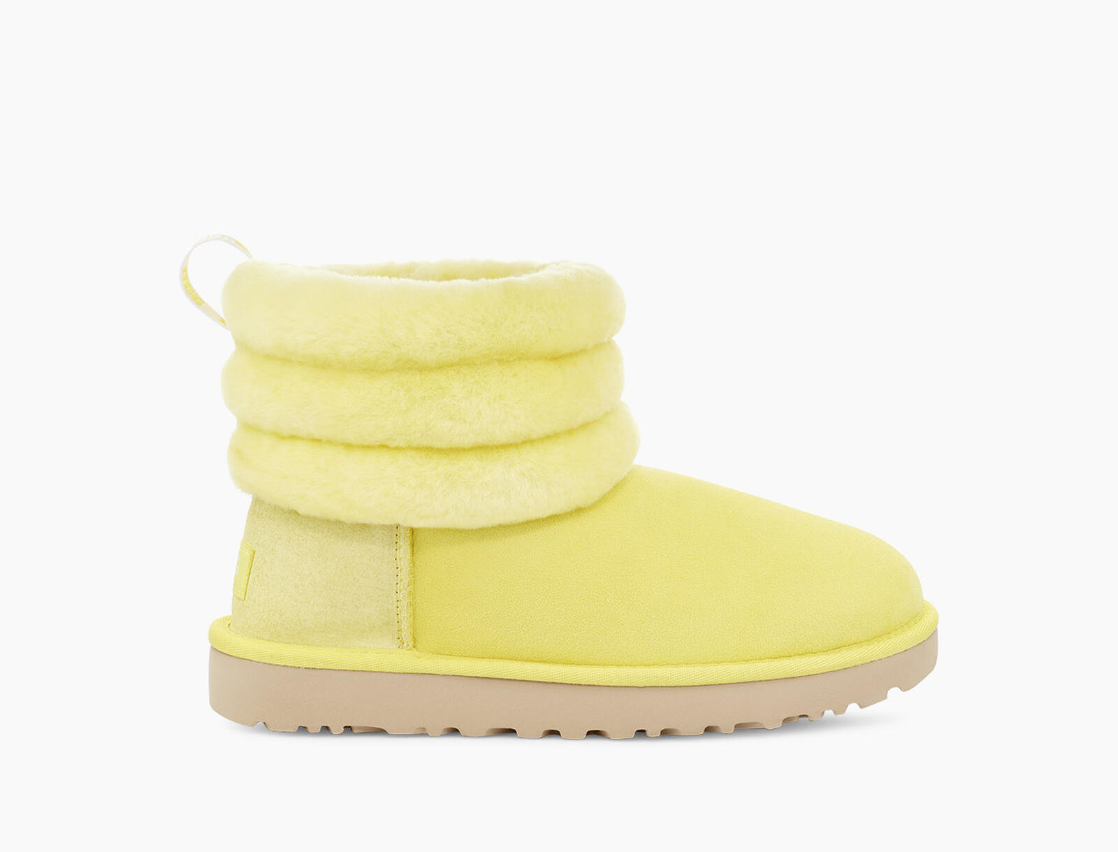 Fluff Mini Quilted Logo Boot