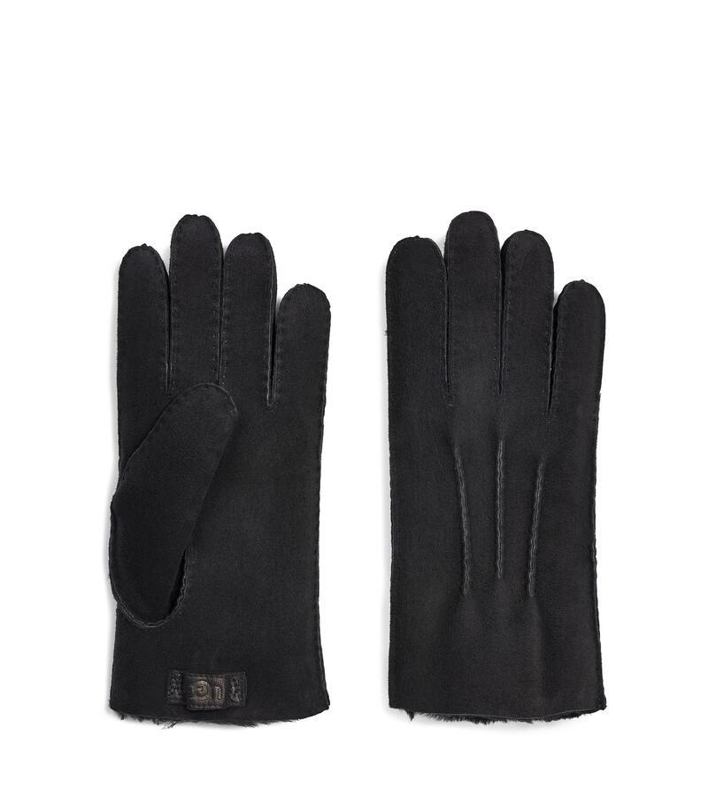 Contrast Sheepskin Glove
