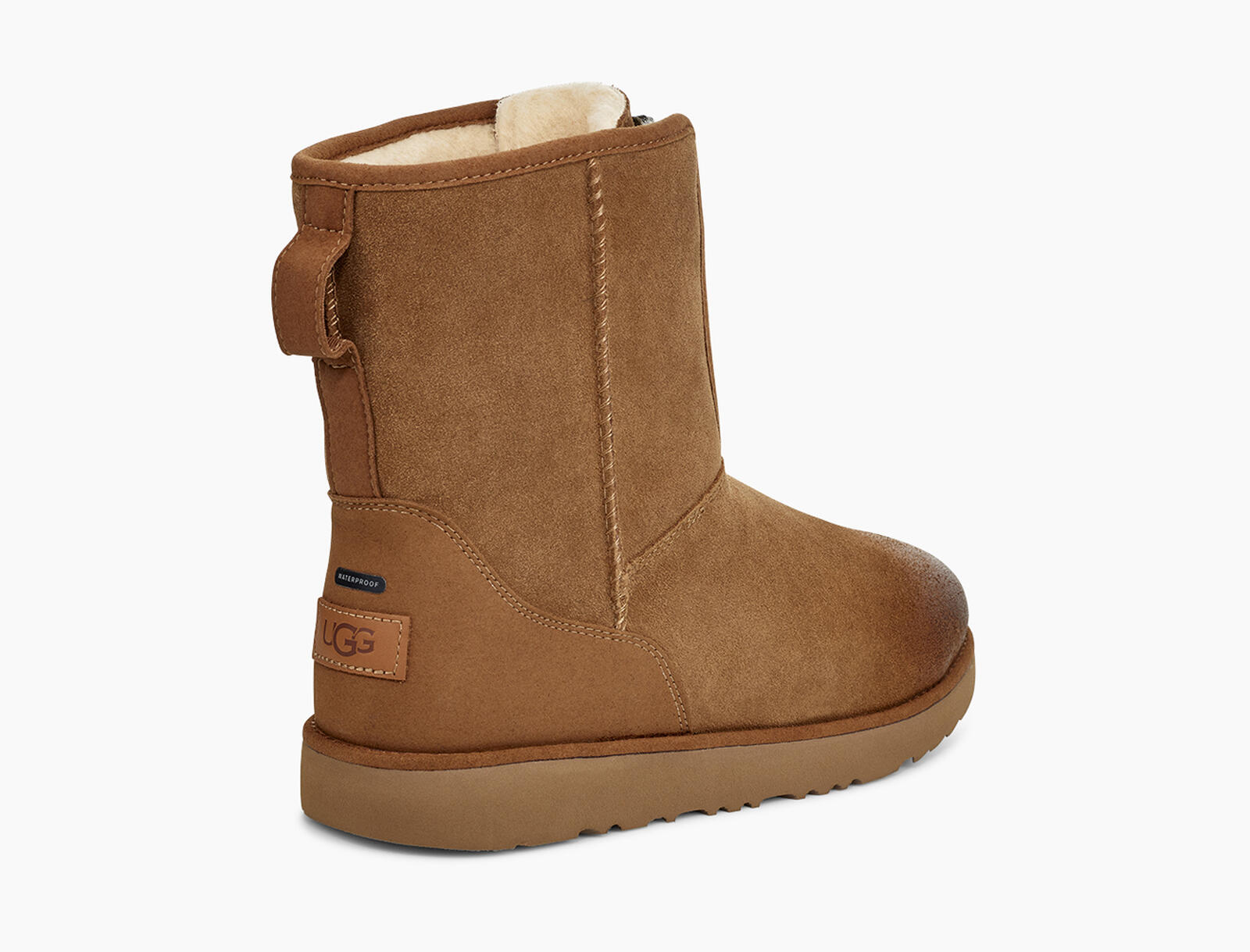 Classic Short Front Zip Waterproof Boot