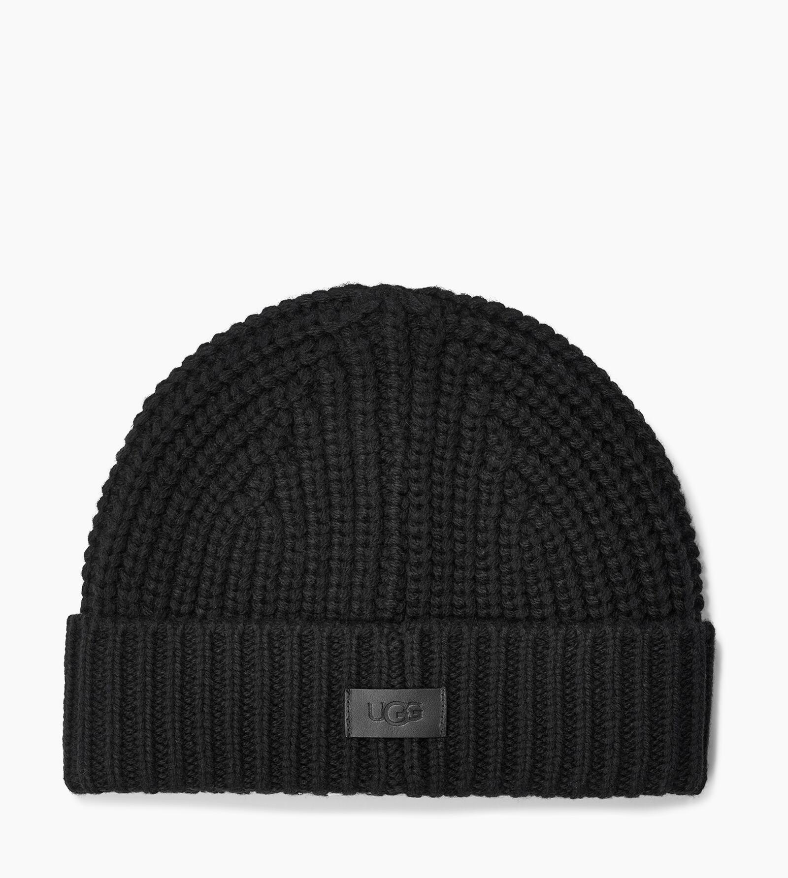 Rib Knit Cuff Hat