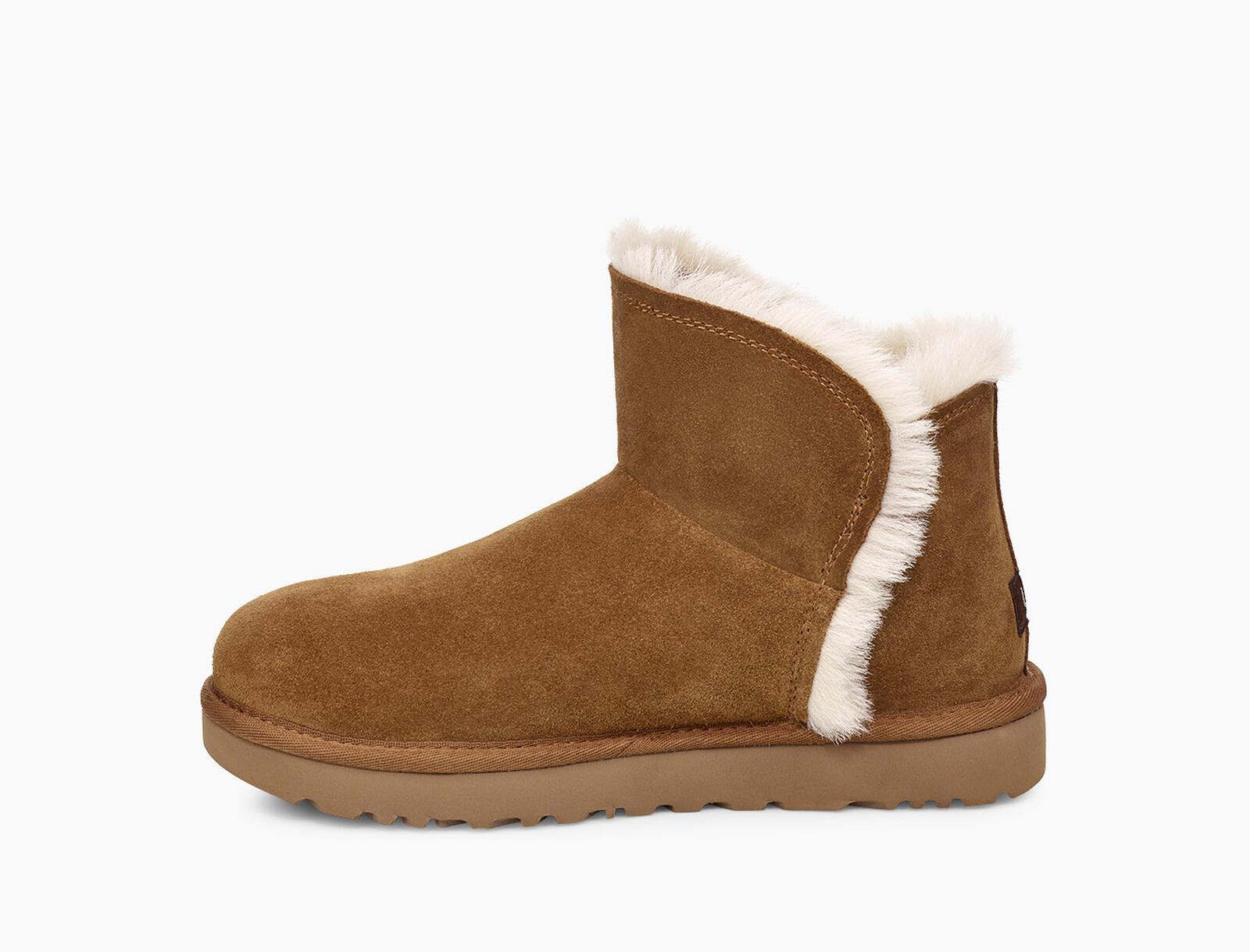 Classic Mini Fluff High-Low Boot
