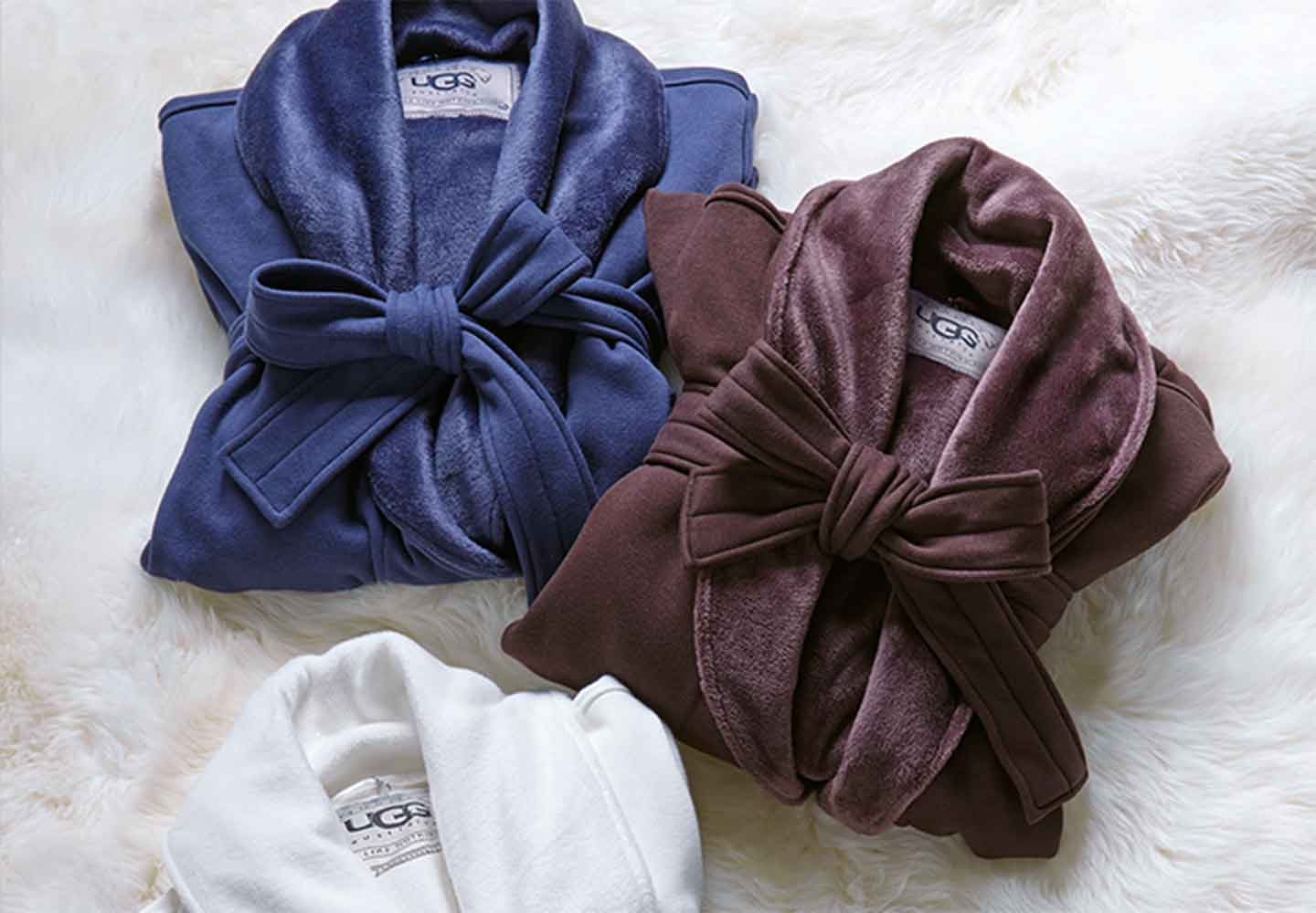 mens and womens Ugg robes